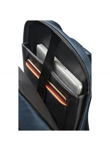 "Samsonite 16N-01-004 14.1"" Qibyte Notebook Sırt Çantası Mavi"